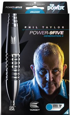 Target Phil Taylor Power 9Five Generation 4 steeltip dartpijlen