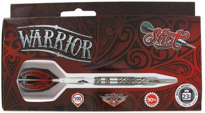 Shot! Warrior I 90% tungsten steeltip dartpijlen