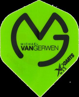 XQ-Max Michael van Gerwen groen flights