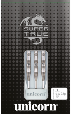 Unicorn Super True Black steeltip dartpijlen