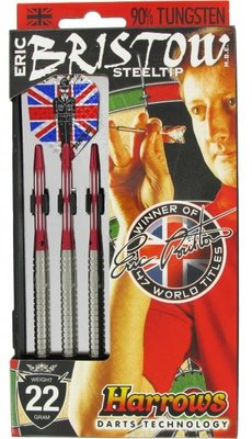 Harrows Eric Bristow steeltip dartpijlen