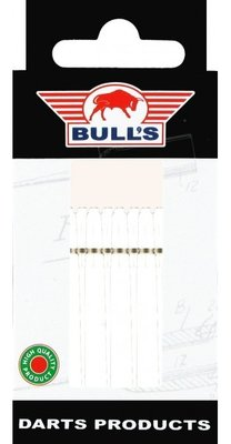 Bull's Medium Nylon Ring shafts wit - 5 pack