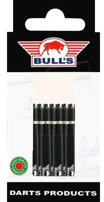 Bull's In Between Nylon Ring shafts zwart - 5 pack