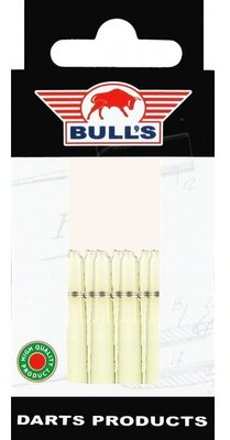Bull's Short Nylon Ring shafts natural - 5 pack