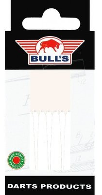 Bull's Short Nylon Ring shafts wit - 5 pack