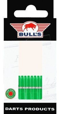 Bull's X-Short Nylon Ring shafts groen - 5 pack