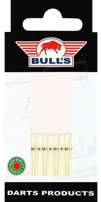 Bull's X-Short Nylon Ring shafts natural - 5 pack