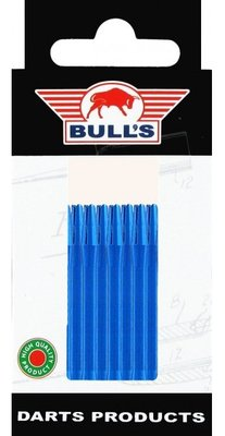 Bull's Medium Aluminium shafts blauw - 5 pack