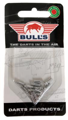 Bull's Flight Protector aluminium zilver - 5 pack