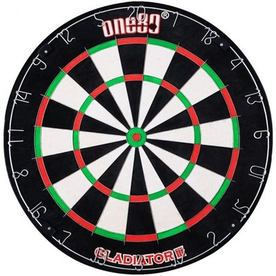One80 Gladiator 3 sisal dartbord