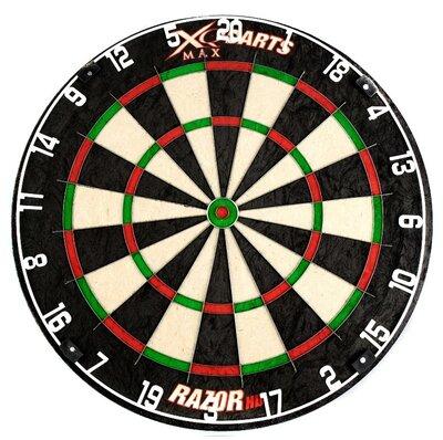 XQ-Max Razor HD sisal dartbord