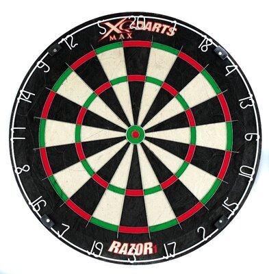 XQ-Max Razor 1 sisal dartbord