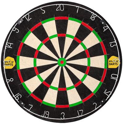 RTL7 sisal dartbord