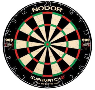 Nodor Supamatch II sisal dartbord