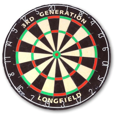 Longfield Third Generation sisal dartbord