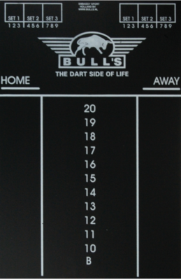 Bull's Small krijtbord scorebord