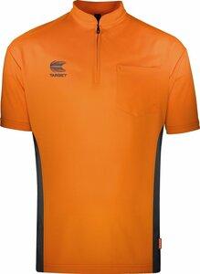 Target Coolplay Collarless Orange/Dark Grey 2019 dartshirt