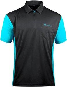 Target Coolplay 3 Hybrid Black/Aqua Blue 2019 dartshirt