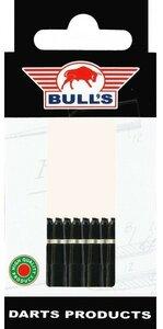 Bull's X-Short Nylon Ring shafts zwart - 5 pack