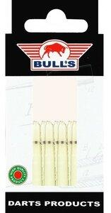 Bull's Short Nylon Ring shafts natural - 5 pack